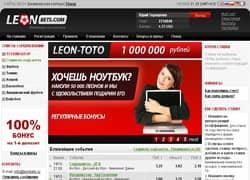 Букмекерская контора Леонбетс официальный сайт - зеркало для входа на сайт